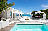 BNPS.co.uk (01202 558833)<br /> Pic: CapVillas/BNPS<br /> <br /> Pool area<br />  <br /> A glamorous villa that has hosted a string of celebrities including Winston Churchill, Pablo Picasso, the Duke of Windsor and Edith Piaf is on the market for £9m (10.5m euros).<br /> <br /> The exquisite Villa La Garoupe Beach sits on a natural sand beach and has its own private beach on one of the French Riviera's most exclusive spots.<br /> <br /> It was once a renowned beach club and the list of names connected to the property are endless. French singer Edith Piaf hosted her engagement party to Theo Sarapo there and it was also visited by former US President Harry Truman, writer Ernest Hemingway, Bond actor Sean Connery and movie star Marlene Dietrich.<br /> <br /> The property in Cap d'Antibes has four bedrooms suitable for six to eight people, three bathrooms and a living area overlooking the sea.