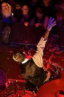 Die Punkband The Adicts am Montag den 13. Mai 2013 live im Berliner Club SO36.<br />13.5.2013, Berlin<br />Copyright: Christian-Ditsch.de<br />[Inhaltsveraendernde Manipulation des Fotos nur nach ausdruecklicher Genehmigung des Fotografen. Vereinbarungen ueber Abtretung von Persoenlichkeitsrechten/Model Release der abgebildeten Person/Personen liegen nicht vor. NO MODEL RELEASE! Don't publish without copyright Christian-Ditsch.de, Veroeffentlichung nur mit Fotografennennung, sowie gegen Honorar, MwSt. und Beleg. Konto:, I N G - D i B a, IBAN DE58500105175400192269, BIC INGDDEFFXXX, Kontakt: post@christian-ditsch.de<br />Urhebervermerk wird gemaess Paragraph 13 UHG verlangt.]