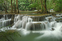 Huay Mae Kamin Waterfall, Kheaun Sri Nakarin National Park, Thailand