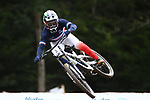 UCI 2021 Mountain Bike Cross Country World  Championships   in Commezzadura on August 29, 2021. Downhill fnal, Loris Vergier (FRA)