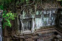 Remote Angkor temples