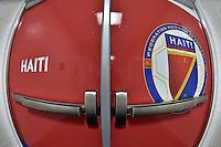 Orlando, FL - Wednesday June 08, 2016:  Haiti locker room prior to a Copa America Centenario Group B match between Brazil (BRA) and Haiti (HAI) at Camping World Stadium.