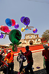 "Street scenes during colorful and festive ""Semana Santa"" (Saint week) in Antigua, Guatemala. A passionate sensory experience that mingles Spanish and Mayan traditions in the week before Easter.  ...Antigua, a colonial town, is a UNESCO World Heritage site."