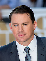 Channing Tatum attends The Magic Mike XXL European Film Premiere at Vue, Leicester Square, London, England on 28 June 2015. Photo by Andy Rowland.