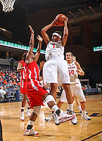 UVa women's basketball player Lyndra Littles