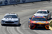 2017 Monster Energy NASCAR Cup Series<br /> STP 500<br /> Martinsville Speedway, Martinsville, VA USA<br /> Sunday 2 April 2017<br /> Matt Kenseth, Tide Toyota Camry, Brad Keselowski, <br /> World Copyright: Scott R LePage/LAT Images<br /> ref: Digital Image lepage-170402-mv-5026