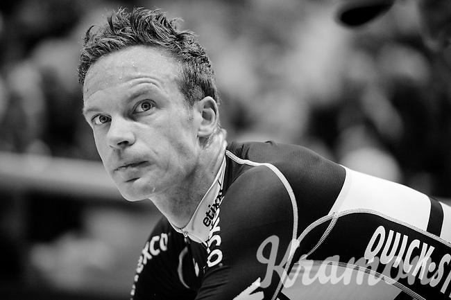 riding on home soil/track in the iconic Kuipke Velodrome: Iljo Keisse (BEL/Etixx-QuickStep)<br /> <br /> 2015 Gent 6