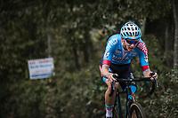 Michael Vanthourenhout (BEL/Marlux Bingoal)  up the Koppenberg. <br /> <br /> Koppenbergcross Belgium 2018