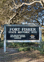 Fort Fisher state Historic Site, Kure Beach, North Carolina, USA