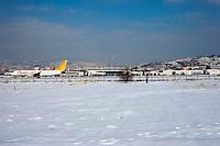 Sarajevo airport.