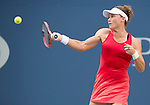 Samantha Stosur (AUS) loses to Flavia Pannetta (ITA) 6-4, 6-4 at the US Open in Flushing, NY on September 7, 2015.