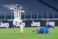3rd January 2021, Allianz Stadium, Turin Piedmont, Italy; Serie A Football, Juventus versus Udinese; Danilo Luiz da Silva of Juventus Fc in action during the Serie A match between Juventus FC and Udinese