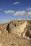 Judea, Herodion, built by Herod the Great as a fortified palace, the eastern tower
