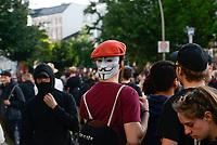 GERMANY, Hamburg, Schanzenviertel, protests against G-20 summit in july 2017 / DEUTSCHLAND, Hamburg, Schanzenviertel, Proteste gegen G20 Gipfel vor der Rote Flora