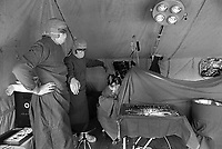 - NATO exercises AMF (Allied Mobil Force) in Norway, february 1986; field hospital of the German army<br /> <br /> - Esercitazioni NATO AMF (Allied Mobil Force) in Norvegia, febbraio 1986; ospedale da campo dell'esercito tedesco