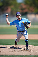 Tampa Bay Rays pitcher Trevor Charpie (54) during a Minor League Spring Training game against the Minnesota Twins on March 17, 2018 at CenturyLink Sports Complex in Fort Myers, Florida.  (Mike Janes/Four Seam Images)