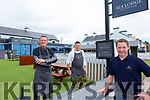 The Sea Lodge Hotel in Waterville is well underway to getting ready for what remains of the 2020 season, pictured here l-r; Chef Mark Doe, Chef Bart O'Sullivan & Eoin Moriarty Owner/Manager.