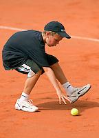 16-8-09, Den Bosch,Nationale Tennis Kampioenschappen, Finale mannen, Ballenkind