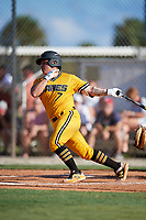 CJ Rodriguez during the WWBA World Championship at the Roger Dean Complex on October 18, 2018 in Jupiter, Florida.  CJ Rodriguez is a catcher from Newport Beach, California who attends Mater Dei High School and is committed to Vanderbilt.  (Mike Janes/Four Seam Images)