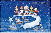Isabella, CHRISTMAS CHILDREN, naive, paintings(ITKE501785,#XK#) Weihnachten, Navidad, illustrations, pinturas