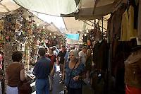 Il mercato di San Lorenzo a Firenze.<br /> The Mercato di San Lorenzo market in Florence.<br /> UPDATE IMAGES PRESS/Riccardo De Luca