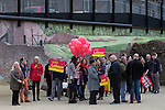 © Joel Goodman - 07973 332324 . 17/04/2015 . Chester , UK . Campaigners for Chris Matheson , campaigning in the City of Chester constituency . Photo credit : Joel Goodman