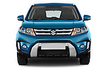Car photography straight front view of a 2015 Suzuki Vitara Lux Extra 5 Door SUV