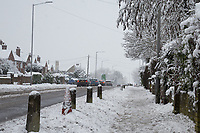 General view of snow<br /> Weather - the Snowfall in High Wycombe, England on 10 December 2017. Photo by Andy Rowland.