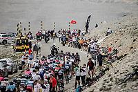 peloton up the famed Mont Ventoux <br /> <br /> Stage 11 from Sorgues to Malaucène (198.9km)<br /> 108th Tour de France 2021 (2.UWT)<br /> <br /> ©kramon