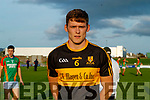 Gavin White (Captain), Dr. Crokes before the Kerry County Senior Football Championship Semi-Final match between Mid Kerry and Dr Crokes at Austin Stack Park in Tralee, Kerry.