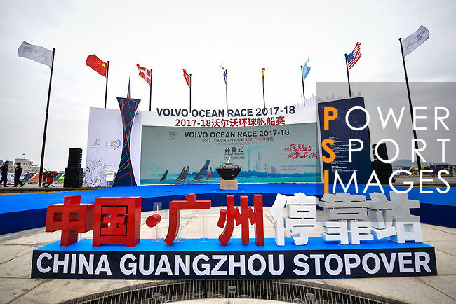 Day 1 of the Volvo Ocean Race 2017-18 - Guangzhou Stopover on 03 February 2018, in Guangzhou, China. Power Sport Images