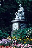 Schubert, Vienna, Austria, Wien, Franz Schubert Monument in City Park in Vienna.