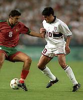 Claudio Reyna vs Portugal, 1996 .