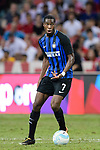 FC Internazionale Midfielder Geoffrey Kondogbia in action during the International Champions Cup match between FC Bayern and FC Internazionale at National Stadium on July 27, 2017 in Singapore. Photo by Weixiang Lim / Power Sport Images
