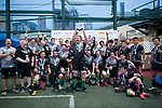 Shield winners prize ceremony as part of the GFI HKFC Rugby Tens 2017 on 06 April 2017 in Hong Kong Football Club, Hong Kong, China. Photo by Marcio Rodrigo Machado / Power Sport Images