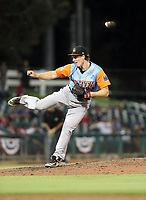 Joey Gerber participates in the 2019 California League All-Star Game at San Manuel Stadium on June 18, 2019 in San Bernardino, California (Bill Mitchell)