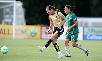 Brandi Chastain...Saint Louis Athletica tied FC Gold Pride 1-1, at Anheuser-Busch Soccer Park, Fenton, MO.