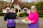 Tara Murphy left and Norma Doherty who have reopened Dennagh Cottage café in aid of Down Syndrome Ireland charity