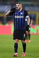 Mauro Icardi of Internazionale <br /> Milano 03-02-2019 Stadio San Siro Football Serie A 2018/2019 Inter - Bologna    <br /> Foto Image Sport / Insidefoto