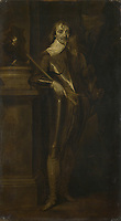 Full title: Portrait of Robert Rich, 2nd Earl of Warwick<br /> Artist: After Anthony van Dyck<br /> Date made: after 1642<br /> The National Gallery, London