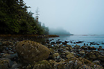 Ucluelet, British Columbia lies at the south end of Canada's Pacific Rim National Park along the north shore of Barkley Sound.  Terrace Beach is accessed from the Wild Pacific Trail, running along the shoreline south of Pacific Rim.