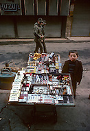 Child street vendors in Istanbul, Turkey - Child labor as seen around the world between 1979 and 1980 - Photographer Jean Pierre Laffont, touched by the suffering of child workers, chronicled their plight in 12 countries over the course of one year.  Laffont was awarded The World Press Award and Madeline Ross Award among many others for his work.