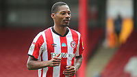 Ethan Pinnock of Brentford during Brentford vs Wigan Athletic, Sky Bet EFL Championship Football at Griffin Park on 4th July 2020