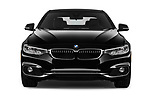 Car photography straight front view of a 2018 BMW 4 Series 430i 2 Door Coupe