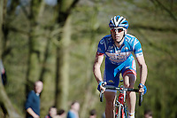 Marco Marcato (ITA/Wanty-Groupe Gobert) over the top of the Kemmelberg<br /> <br /> 3 Days of West-Flanders 2015<br /> stage 2: Nieuwpoort - Ichtegem 184km