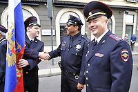 - Milano, 19 giugno 2016, raduno dell'Associazione Nazionale Carabinieri per celebrare i 202 anni dalla fondazione dell'Arma; Delegazione di agenti della polizia di Mosca (Russia) e San Francisco (USA)<br />