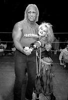 Hulk Hogan Cyndi Lauper 1985<br /> Photo by Adam Scull/PHOTOlink.net