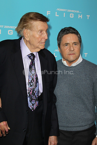 HOLLYWOOD, CA - OCTOBER 23: Brad Grey and Sumner Redstone at the Los Angeles premiere of 'Flight' at ArcLight Cinemas on October 23, 2012 in Hollywood, California. ©mpi21/MediaPunch Inc.