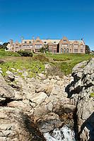Rough Point mansion, Cliff walk, Newport, Rhode Island, RI