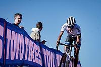 European Champion Ceylin Del Carmen Alvarado (NED/Alpecin - Fenix)<br /> <br /> Elite Women's Race<br /> 2021 UCI cyclo-cross World Cup - Zonhoven (BEL)<br /> <br /> ©kramon